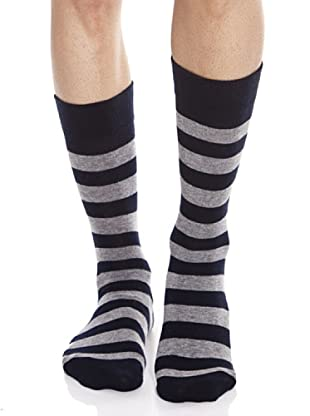 Caramelo Calcetines (gris / negro)