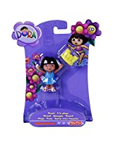 Fisher Price Dora Collectible Figures IV, Multi Color
