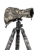 LensCoat LCRSMDC RainCoat RS for Camera and Lens, Medium (Digital Camo)