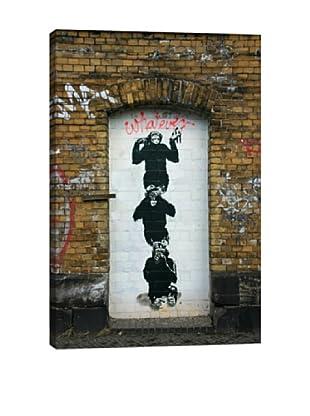 Banksy Monkey Business Giclée On Canvas