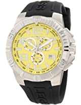 Swiss Legend Men's 40118-07 Super Shield Chronograph Yellow Dial Watch