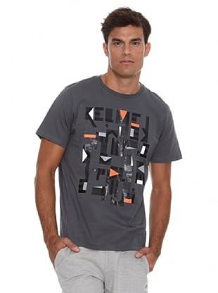 Kelme Camiseta Manga Corta (Grafito)