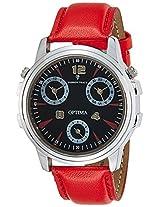 Optima Analog Black Dial Men's Watch - FT-ANL-2527