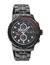 Titan Octane AW Analog Black Dial Men's Watch - 90029KM04