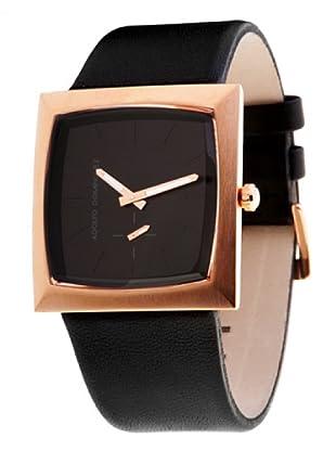 Adolfo Dominguez Watches 63062 - Reloj de Caballero cuarzo correa piel Negra