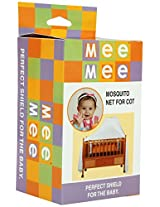 Mee Mee Mosquito Nets For Cots -White
