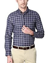 Peter England Navy Shirt