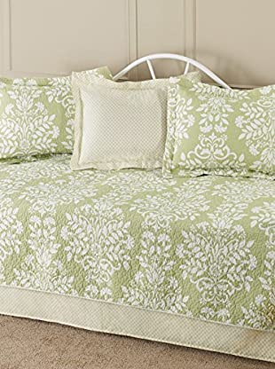 Laura Ashley Rowland Daybed Quilt Set, Green