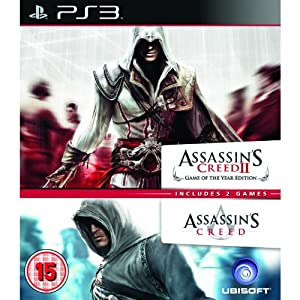 Assassin's Creed + Assassin's Creed 2 GOTY Edition Double Pack for X360