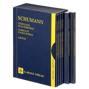 シューマンピアノヘンレ原典版楽譜