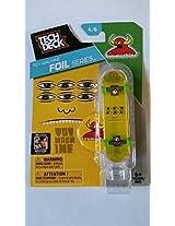 Sector 9 2015 Tech Deck Finger Skateboard Toy Machine Foil Series 4/6 - Toy Machine (Yellow)