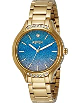 Aspen Analog Blue Dial Women's Watch - AP1954