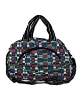 Cropp Trendy Gym Bag(18x11x10 inch) Nylon ,Multi Color