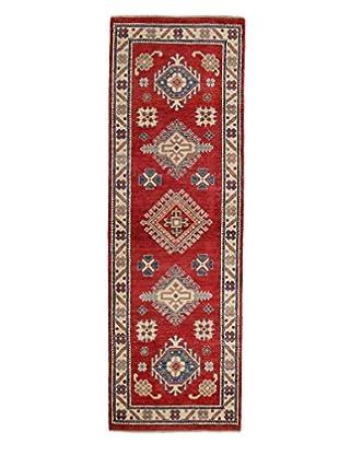 Darya Rugs Kazak Oriental Rug, Red, 2' 7