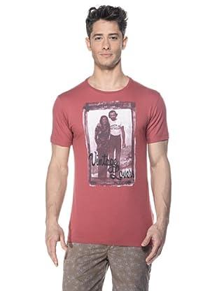 Zu-Elements Camiseta Tommy (Rojo Lavado)