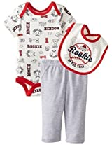 Bon Bebe Baby Boys Newborn Rookie 3 Piece Pant Set By Bon Bebe