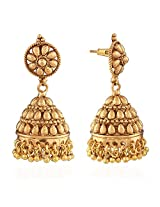 Niki Jewels Copper Jhumki for women (Multicolor) (004 69 145)