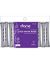 "Diane Cold Wave Rod, Gray, 3/8"", 12/bag (Pack of 12)"