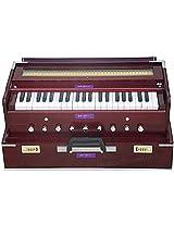 SANSKRITI MUSICALS Folding Harmonium - Rosewood - Safri - 9 Stop - AHF