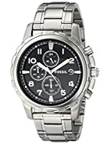 Fossil Analog FS4542 Black Dial Men's Watch