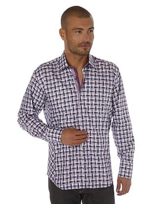 Gazoil Camisa Cuadros (Violeta)