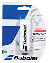 Babolat 670041-101 Syntec Feel X 1 Replacement Grip (White)