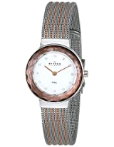 Skagen End-of-Season Analog Silver Dial Women's Watch - 456SRS1