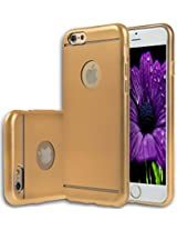 iPhone 6s / iPhone 6 Case Cover, E LV Apple iPhone 6s / iPhone 6 ULTIMATE Protection SUPER SLIM Anti-slip coat Protective TPU Case Cover for iPhone 6s / iPhone 6 (4.7 INCH) - GOLD
