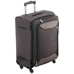 American Tourister Polyester 55 cms Black Softsided Carry-On