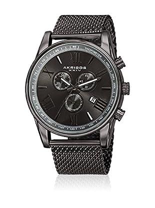 Akribos XXIV Reloj con movimiento cuarzo suizo Man AK813GN Gray