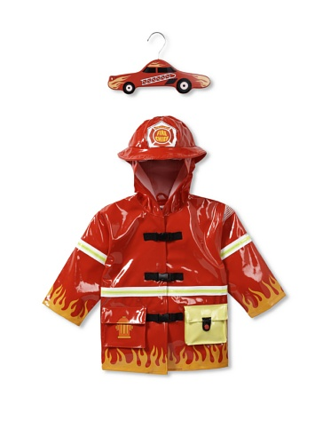 Kidorable Fireman Raincoat (Red)
