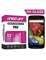 Unistuff ( TM ) Kristal Clear Tempered Glass for Huawei Nexus 6P