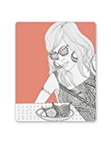 PosterGuy Fruits Of Love Graphic Illustration Mouse Pad