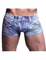 Xuba Water Blue Jeans Boxer