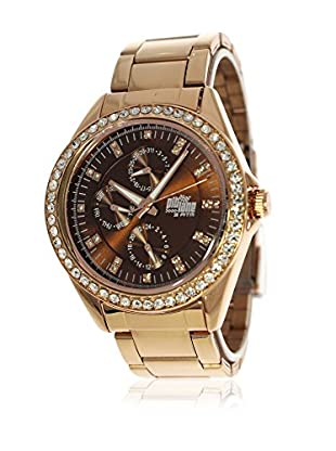 Pit Lane Uhr mit Miyota Uhrwerk Pl-4006-2 rosé 41 mm