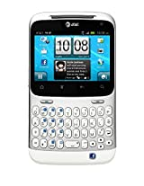HTC Status ChaCha A810a Unlocked GSM Facebook Cell Phone - Silver