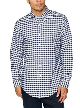 Brooks Brothers Camisa Mathieu (Azul)