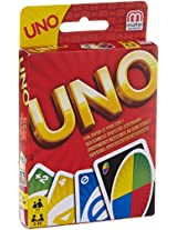 Mattel 51967 Card Game Uno By Mattel