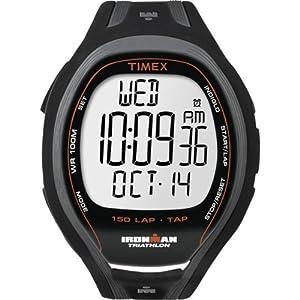 【クリックで詳細表示】[タイメックス]TIMEX [タイメックス]TIMEX 腕時計 アイアンマン スリーク 150ラップ タップスクリーン ブラック T5K253 メンズ [正規輸入品] T5K253 メンズ 【正規輸入品】