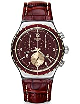 Swatch Irony YVS418 Red Analogue Watch - For Men