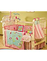 Abracadabra 4 Pieces Crib Set - Fairy Garden (Pink)