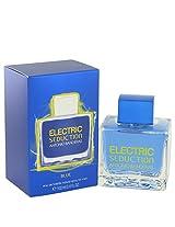 ANTONIO BANDERAS Electric Seduction Blue 3.4 oz Eau De Toilette Spray