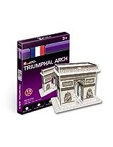 """CubicFun 3D Puzzle S-Series """"Triumphal Arch - Paris"""""""