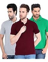 Concepts Men's Casual Shirt (TSHT_C3_GRMRGY_Multi_44)