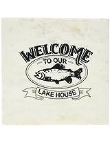 Mud Pie Lake House Marble Board