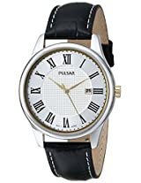 Pulsar Men's PH9037 Traditional Collection Analog Display Japanese Quartz Black Watch