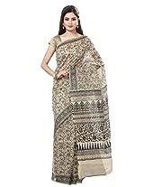 Rani Saahiba Printed Cotton Saree(SKR1014_Beige)