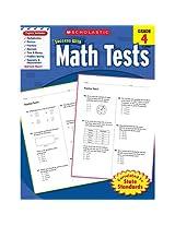 Scholastic Success Math Tests Gr 4