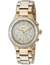 DKNY Women's NY2395 CHAMBERS Gold Watch