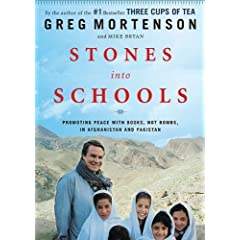 Stones Into Schools: Promoting Peace with Books, Not Bombs, in Afghanistan and Pakistan [With Earbuds] (Playaway Adult Nonfiction)